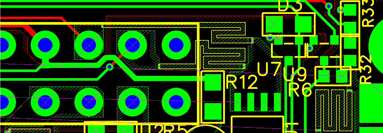 MADPSU - header picture (partial PCB layout)