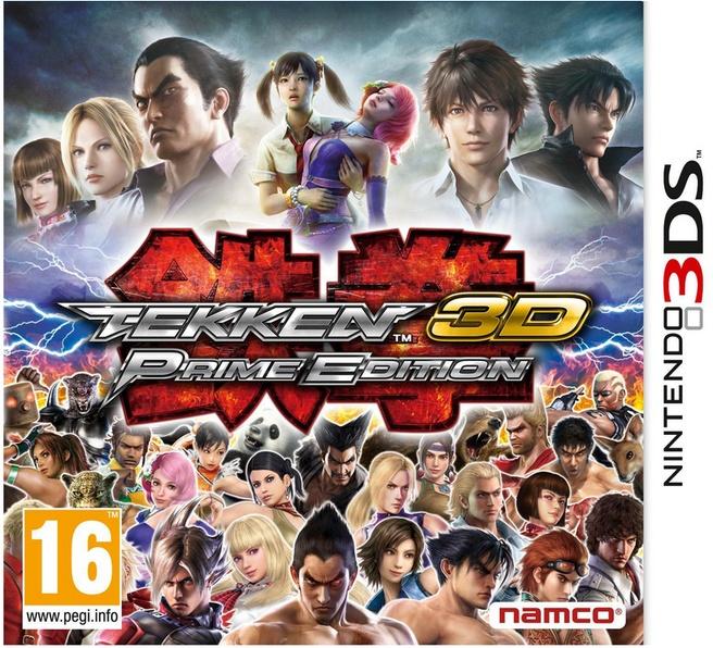 Tekken 3D: Prime Edition, Nintendo 3DS (XL)