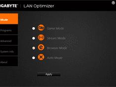 Lan Optimizer Mode