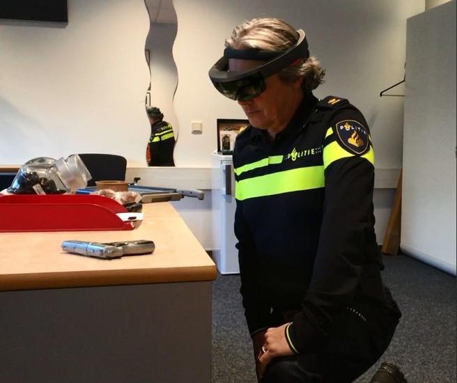 Politie HoloLens