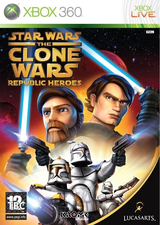 Packshot voor Star Wars: The Clone Wars - Republic Heroes