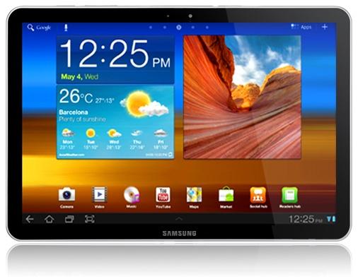 Mockup: Samsung Galaxy Tab 11.6