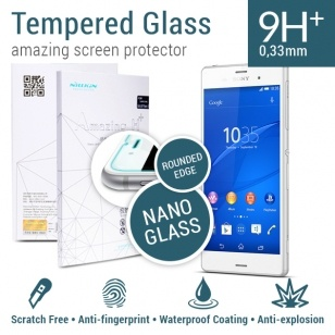 Nillkin Amazing H+ Tempered Glass Sony Xperia Z3 - Rounded Edge