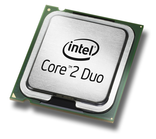 Intel Core 2 Duo perspic (groot)