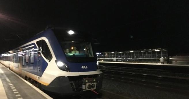 NS zeflrijdende trein