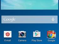 Screenshot Samsung Galaxy S III Neo (voor sub-200 euro shootout)