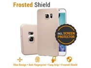 Goedkoopste Nillkin Backcover Samsung Galaxy S6 edge Plus - Super Frosted Shield - Gold