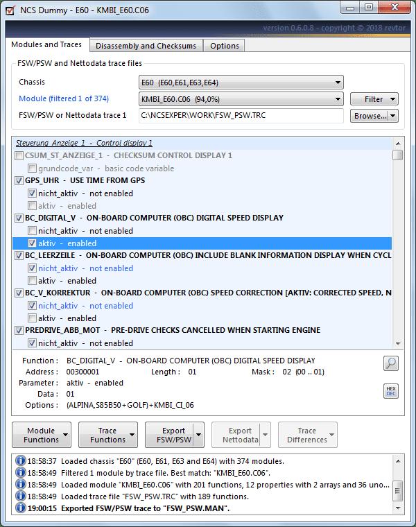 ncs dummy taking the expert out of ncs expert rh bimmerforums com NCS Expert Interface ncs expert user manual