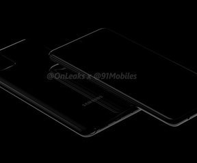 Samsung Galaxy Note 10 Lite-renders. Bron: OnLeaks en 91Mobiles