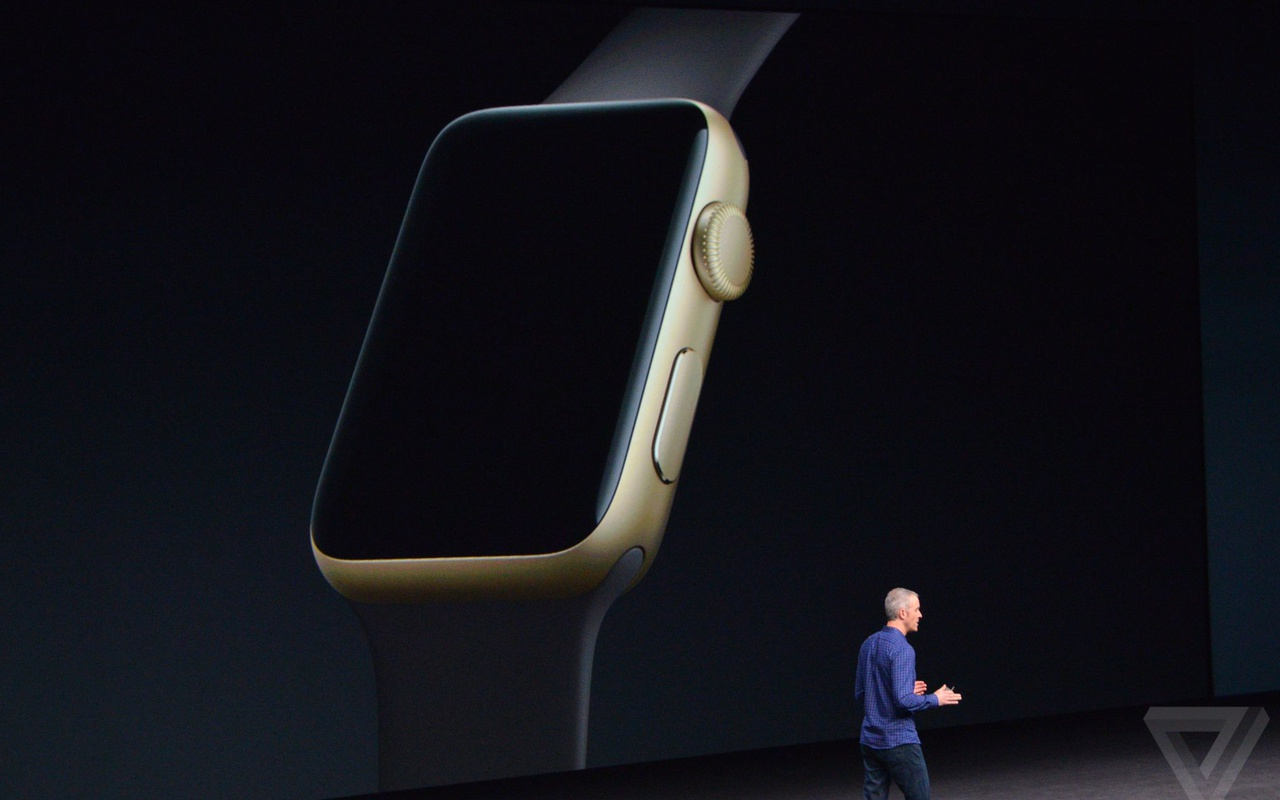 Apple Watch Series 2 in keynote