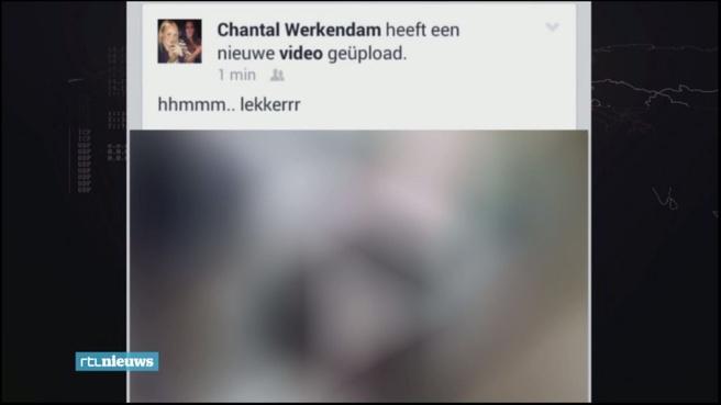 Screenshot wraakporno op Facebook (RTL Nieuws)