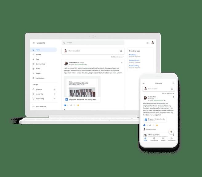 Google Currents 2019