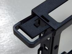 Thermaltake Core X9 uitklapvergrendeling buitenzijde
