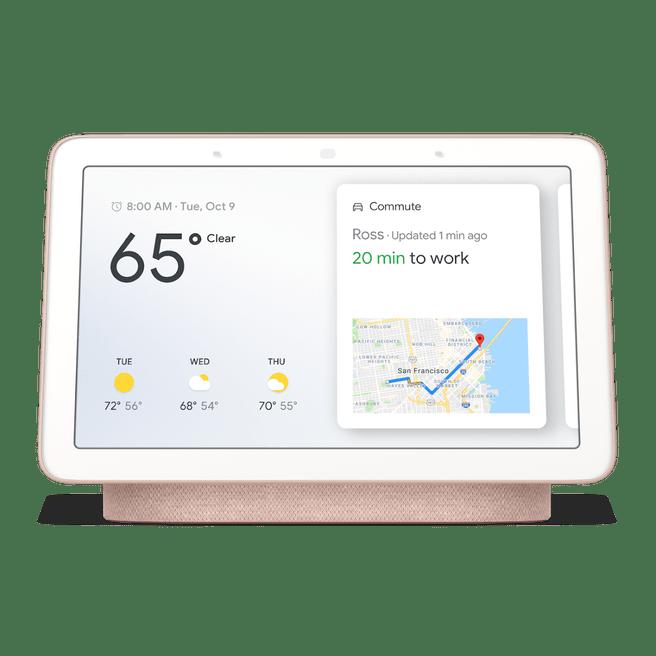 Google Home Hub - Aqua