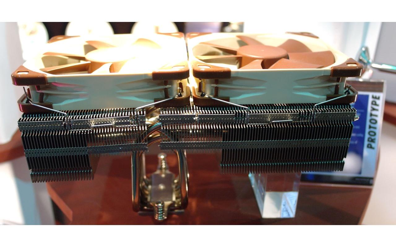 Noctua prototype Top Flow-koeler