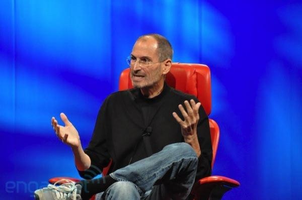 Steve Jobs spreekt op D8