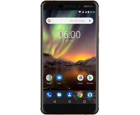 Nokia 6 (2018) 3GB ram, 32GB opslag Zwart