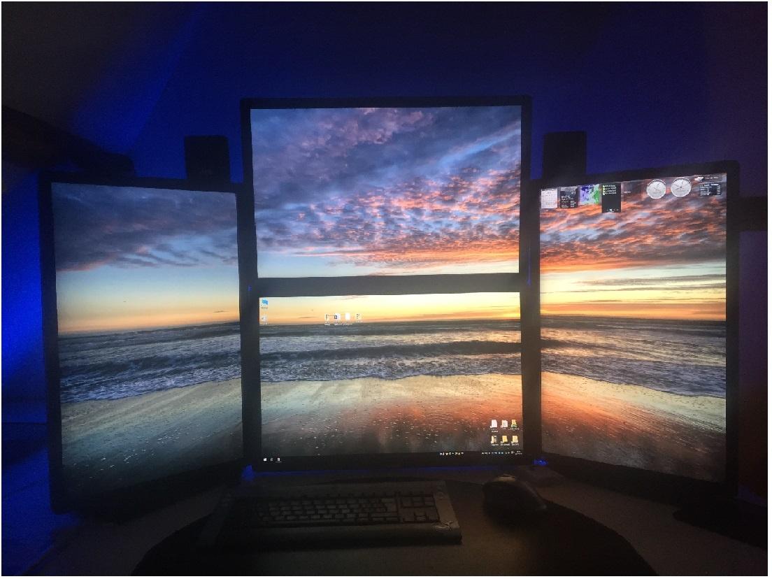 Screen setup
