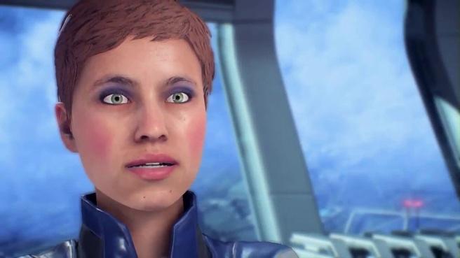 Mass Effect Andromeda gezicht