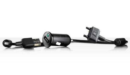 Sony Ericsson AN402 Autolader + USB Data Kabel