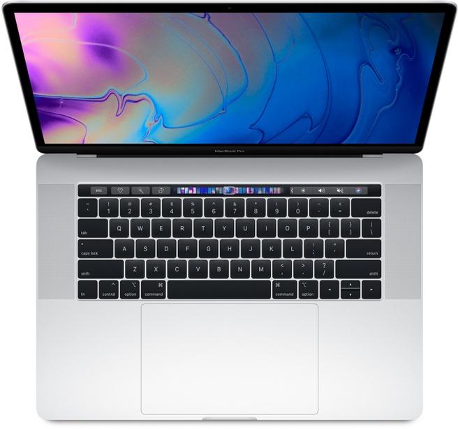 "Apple MacBook Pro 2018 15,4"" i7 2,2 GHz, 256GB (Qwerty) Zilver"