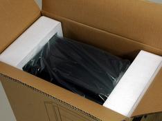 Verpakking geopend Iso