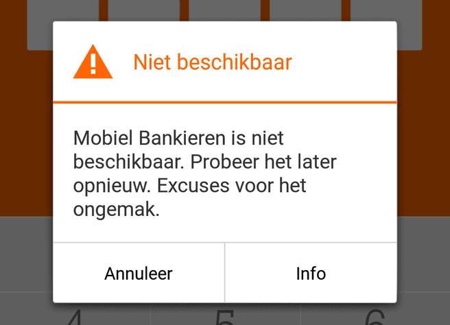 ING mobiel bankieren