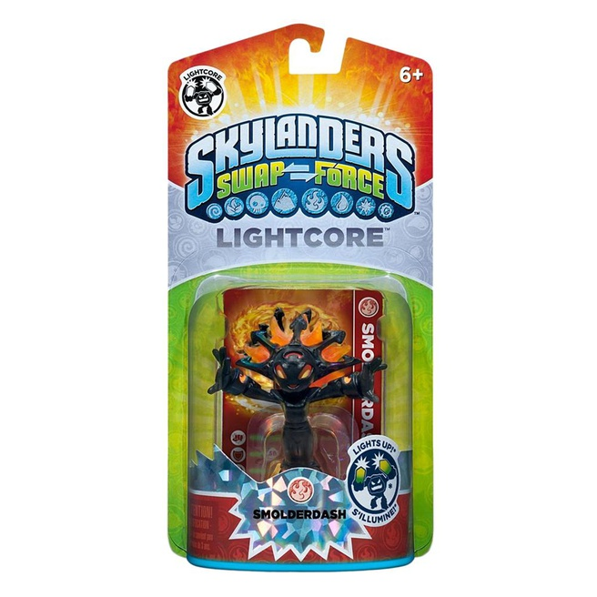 Skylanders Swap Force Smolderdash (Light Core), Nintendo 3DS, PlayStation 3, PlayStation 4, Wii, Wii U, Xbox 360, Xbox One