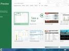 Microsoft Excel 2013 - Startscherm