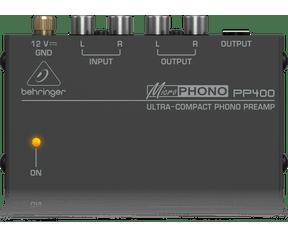 Behringer PP 400 phono voorversterker