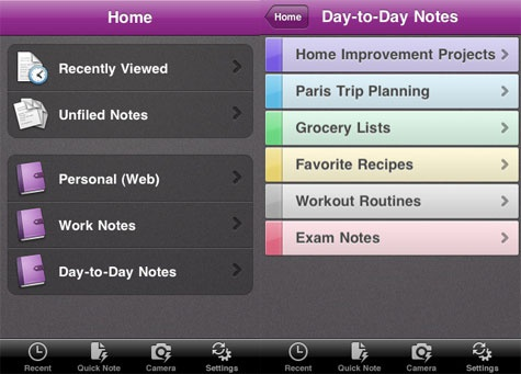 OneNote for iOS
