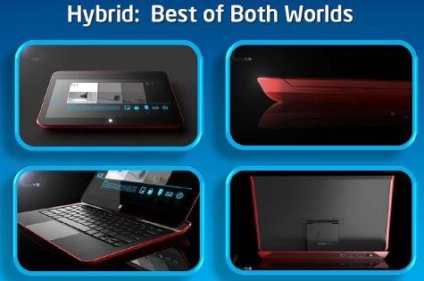 Intel rode hybrid