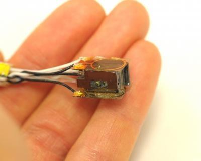 Mini-sensor voor hersenmetingen