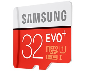 Samsung EVO+ microSDHC 32GB