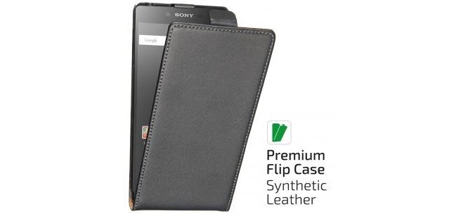 qMust Elegant flip case Sony Xperia Z5 Compact - Black