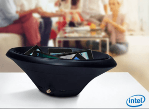 Intel wireless charging bowl
