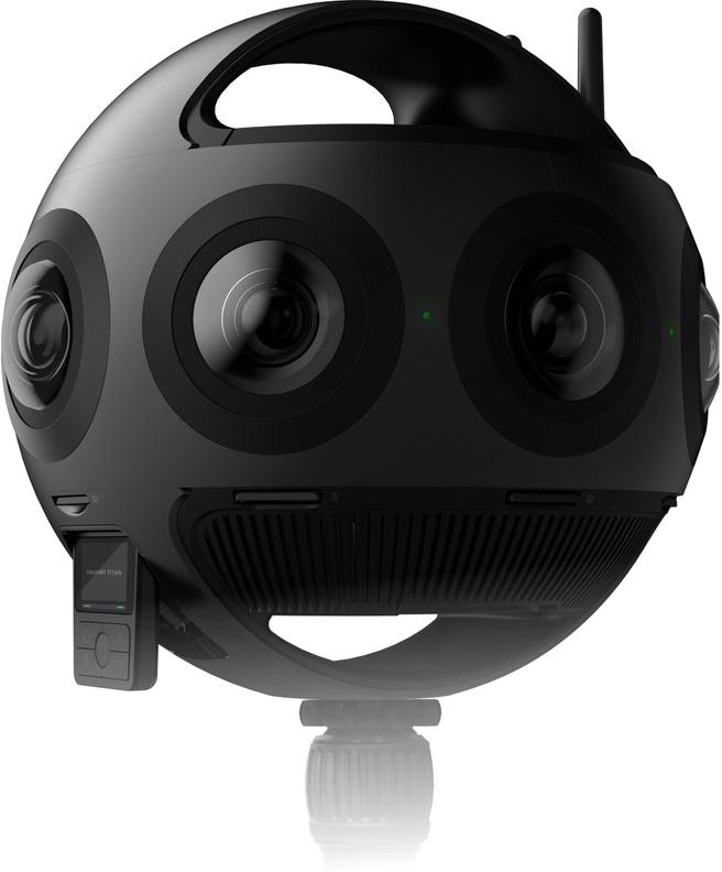 Insta360 Titan Zwart