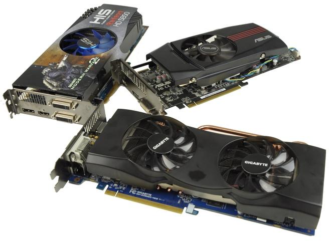 Drie HD 5850's