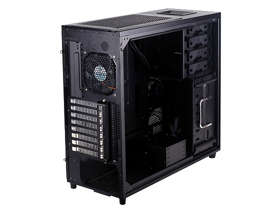 Silverstone Kublai KL04 (Zwart met Windows)