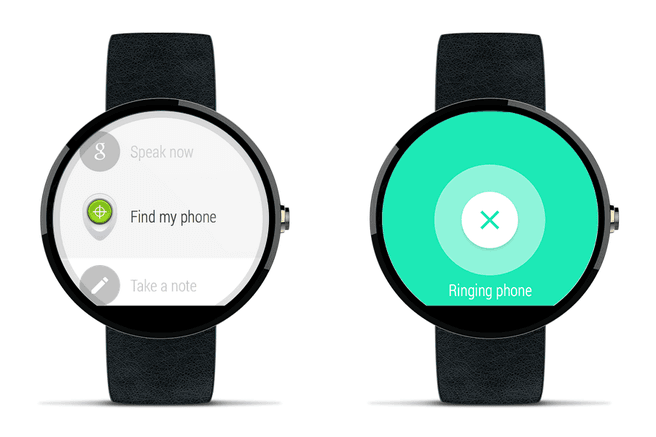 android wear find phone