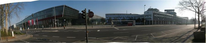 4g-testlocatie in Bonn, Duitsland