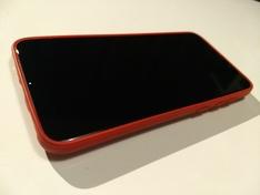 Pocophone F1 TPU Leather case front