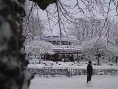 Blauwe Theehuis in Vondelpark