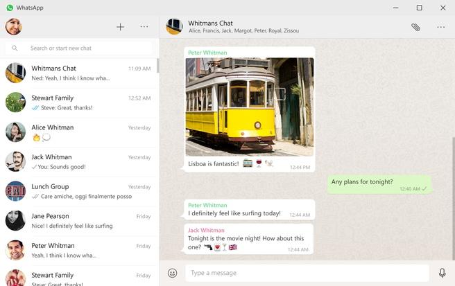 WhatsApo desktop app