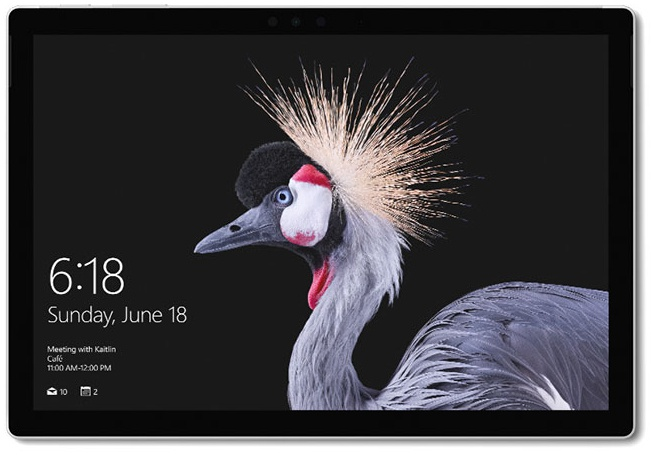 Microsoft Surface Pro (2017) Core i7, 8GB ram, 256GB ssd + Type Cover (Qwerty) Zilver