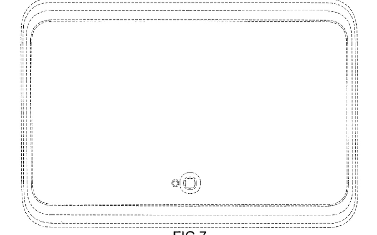 Samsung designpatent tablet back