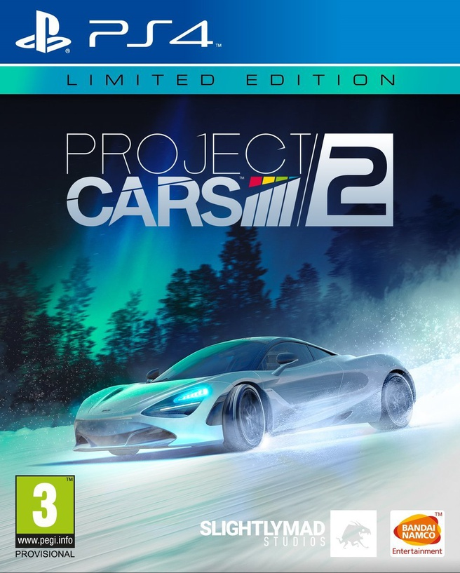Project Cars 2 Limited Edition, PlayStation 4
