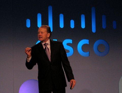 Cisco-ceo John Chambers op de CES 2011