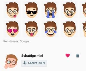 Google Gboard Emoji Minis