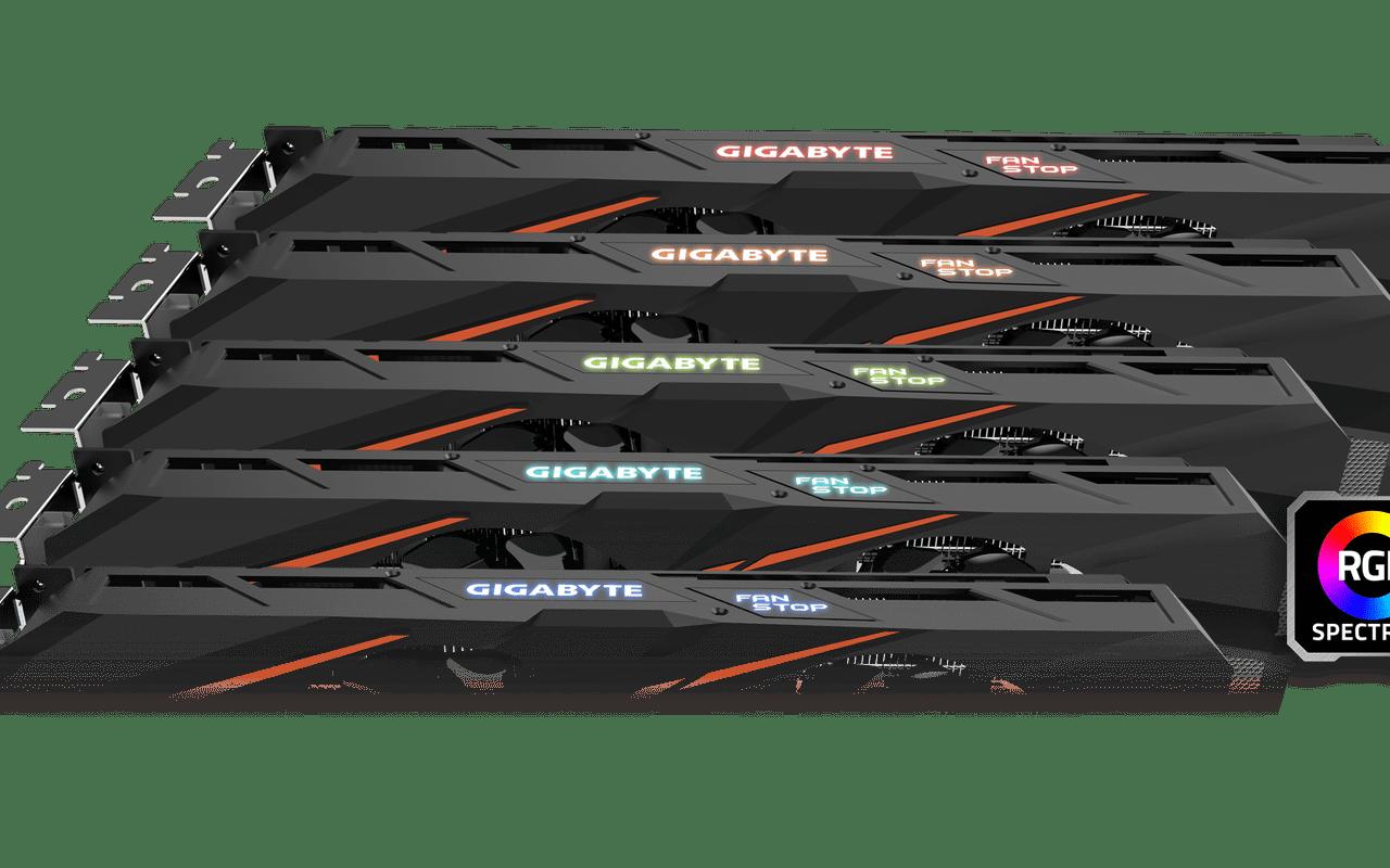 GTX 1060-videokaarten van Asus, MSI en Gigabyte